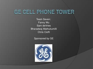 GE Cell Phone Tower