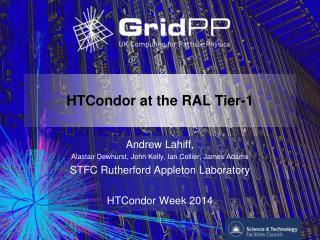 HTCondor at the RAL Tier-1