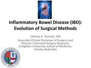 Inflammatory Bowel Disease (IBD): Evolution of Surgical Methods