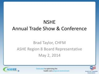 NSHE Annual Trade Show & Conference