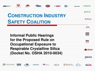 Construction Industry Safety  Coalition