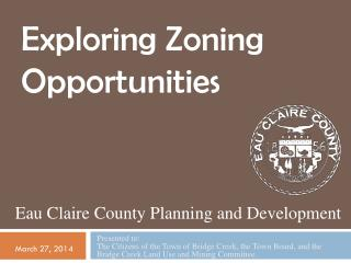 Eau  Claire  County Planning and Development