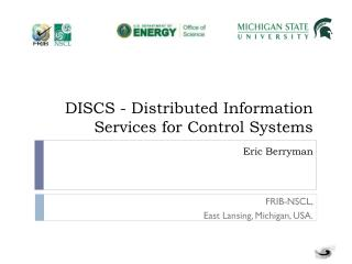 DISCS - Distributed Information Services for Control Systems