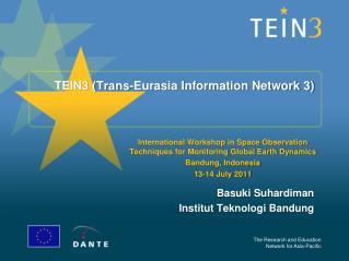 TEIN3 (Trans-Eurasia Information Network 3)