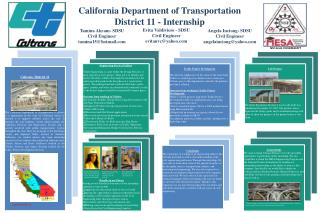 California Department of Transportation  District 11 - Internship