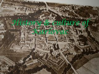 History & culture of Karlovac