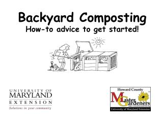 Backyard  Composting How-to  advice to get started!