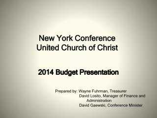 New York Conference United Church of Christ