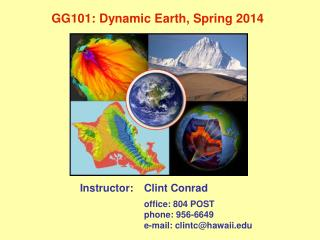 GG101: Dynamic Earth,  Spring 2014