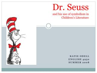 dr. seuss and his use of symbolism in children