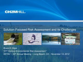 Solution-Focused Risk Assessment and its Challenges