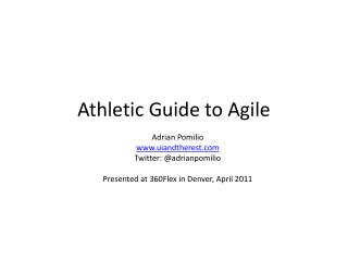 Athletic Guide to Agile