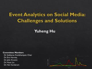 Event Analytics on Social Media: Challenges and  Solutions