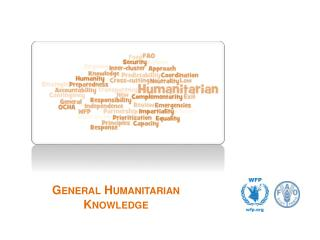 General Humanitarian Knowledge