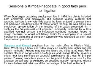 sessions & kimball is a law firm