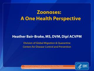 Heather Bair-Brake, MS, DVM, Dipl ACVPM
