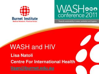 WASH and HIV