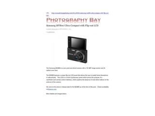 samsung mv800 ultra-compact with flip-out lcd (photography b