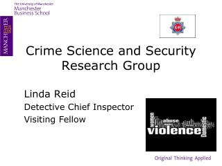 Crime Science and Security Research Group