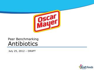 Peer Benchmarking Antibiotics