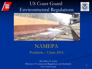 US Coast Guard  Environmental Regulations