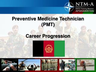 Preventive Medicine Technician (PMT) Career Progression