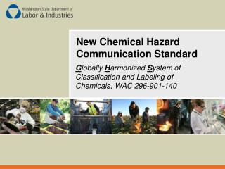 New Chemical Hazard Communication Standard