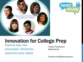 Innovation for College Prep