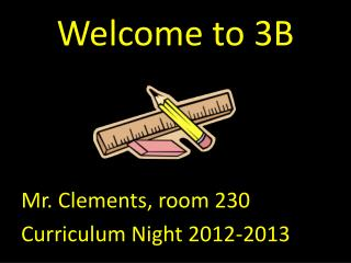 Welcome to 3B