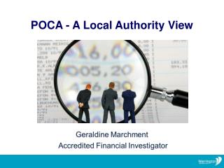 POCA - A  Local Authority View