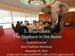 5. Glyphosate: The Elephant in the Room