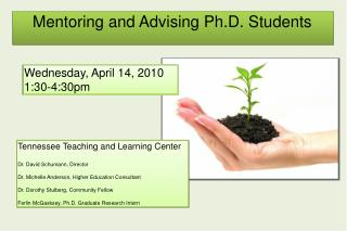 Mentoring and Advising Ph.D. Students