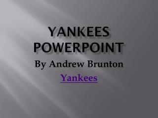 Yankees PowerPoint