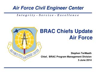 BRAC Chiefs Update Air Force