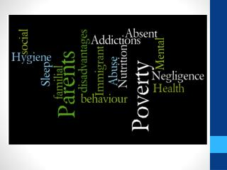 Poverty Poor Nutrition Poor Hygiene Lack  of  Sleep Parental Addictions Parents ' Mental  Health Negligence  and  Abus