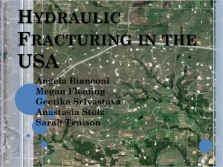 Hydraulic Fracturing in the USA