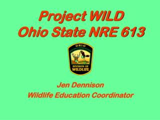 Project WILD Ohio State NRE 613