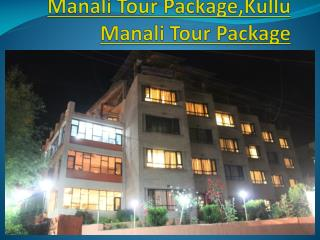 manali tour package,kullu manali tour package