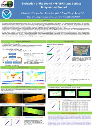 Evaluation of the  Suomi  NPP  VIIRS Land Surface Temperature Product