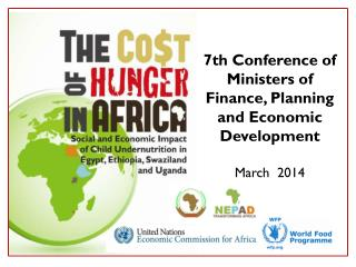 7th Conference of Ministers of Finance, Planning and Economic Development March  2014