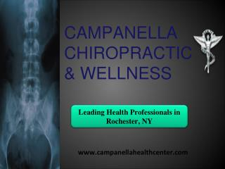 Leading Health Professionals in Rochester, NY- Chiropractors