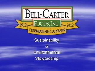 Sustainability & Environmental Stewardship