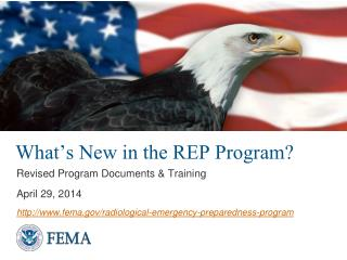 What's New in the REP Program?