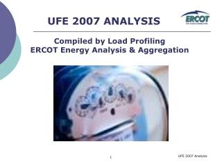 ercot 2003 ufe analysis