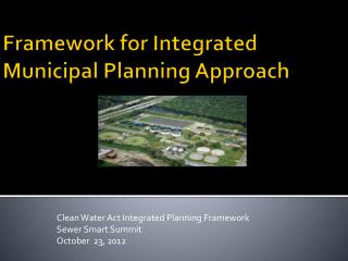 Framework for Integrated Municipal Planning Approach