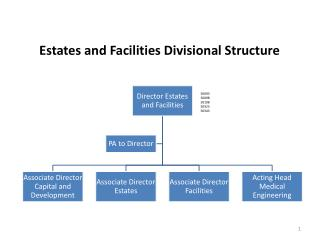Estates and Facilities Divisional Structure