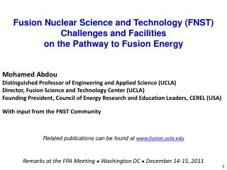 Fusion Nuclear Science and Technology (FNST) Challenges and Facilities on the Pathway to Fusion Energy