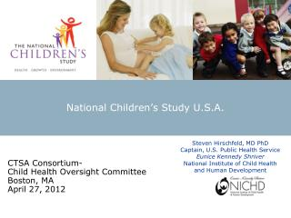 National Children's Study U.S.A.
