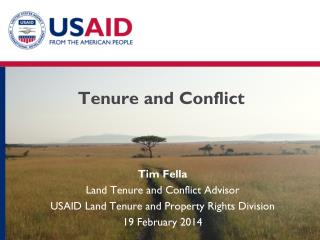 Tenure and  Conflict