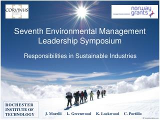 Seventh  Environmental Management Leadership Symposium